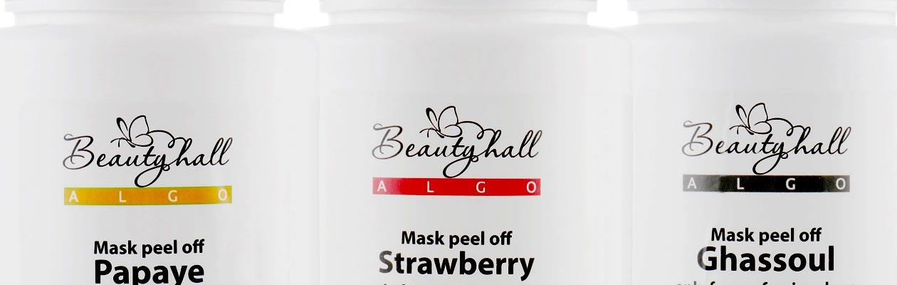 Альгінатні маски Beautyhall ALGO